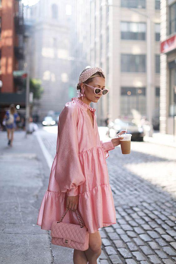 Розовият цвят винаги на мода