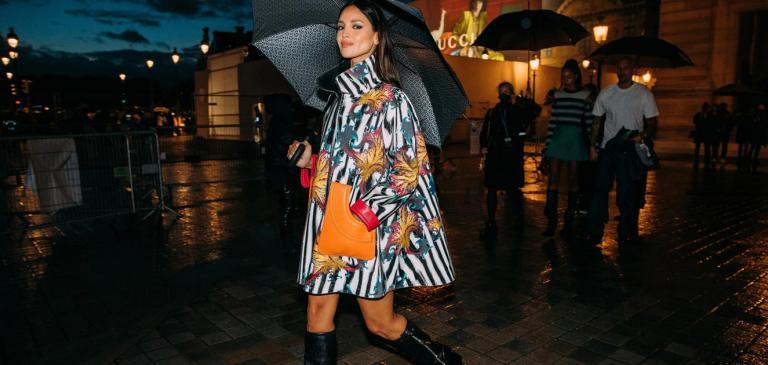 Chelsy на седмица на модата в Париж